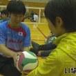 シッティングバレー 全日本強化選手が指導