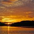美しい英虞湾の日暮