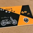 60周年記念コラボのスケッチブック