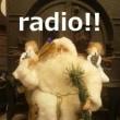 キルトミュージアムでラジオ♪