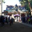 天沼八幡神社 Le temple local