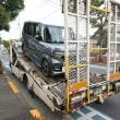 ホンダカーズから新型の新車「N BOXカスタム」が積載便で届きました!
