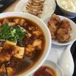 麻婆麺のセット