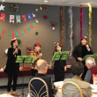 Christmas Party at Nursing Home for Elderly People