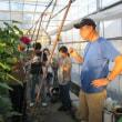 みやぎ農業未来塾「農業大学校生の視察研修会・交流会」を開催しました