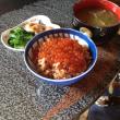 北海道の鮭卵のイクラ丼