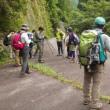 2017年8月20日(日) [大峰]かりがね橋から大天井ヶ岳へ、急登をしのいで登る!!