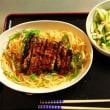 今日の夕食:うなぎパスタ