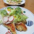 ササミのチーズフライ☆野菜スープ