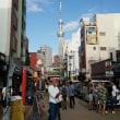 浅草は、三社祭で歩行者大渋滞