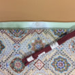 正絹華菱柄の刺繍袋帯