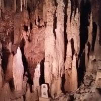 玉泉洞にて