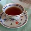 季節に添った紅茶の世界作り 地紅茶 「はつもみぢ」と「柿」の和菓子
