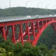 雨の的矢湾大橋界隈 (磯部町)