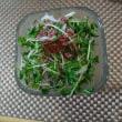 豆苗と春雨のタイ風サラダ