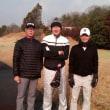 今年初ゴルフ