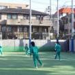9年体育女子  ハンドボールの授業