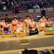 大相撲九州場所中日