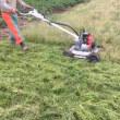 刈払機が嫌になったらこれ!畦草刈り スパイダーモア オーレック SP851AF 共立 AZ851AF