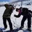 今日の大山は最高のスキー日和!今年の俺は滑りまくりです!