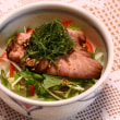 ローストポーク丼&蒸し鶏
