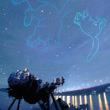 我孫子にある水の館のプラネタリウムでの「ビートルズ特集-音楽と楽しむ星空解説-」