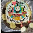 今日のイラストプレートケーキ