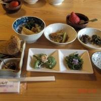 摘み菜の食事