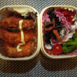 菜の花の辛子和え弁当