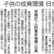 #270 「人的資本指数(世界銀行)」日本3位!・・・なんだけど記事は9面の下の方