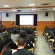 2年次 総合的な学習の時間(第1回OB講話)