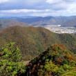 大倉山と亀山(たつの市)