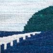 4枚綜絖で風通織の柄を織る