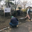 逍遙公園の清掃