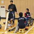 ボッチャ代表が講師 美川中生が試合体験