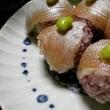 小鯛の手まり寿司