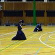 中段の構えの剣先の向き(長正館定例剣道稽古・2018年12月12日)