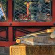 根津神社 冬の午後