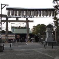大阪・生国魂神社に参拝