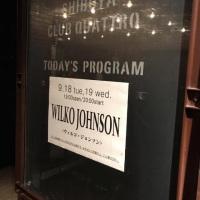 ウィルコジョンソンバンドに再会。