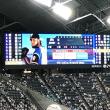 ファイターズ対ホークス  札幌ドーム!