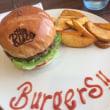 【食】『THE RISCO』のハンバーガー