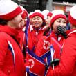 北朝鮮美女応援団(2月14日)(2月14日更新)
