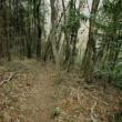 桐生市広沢側から八王子丘陵の唐沢山へいってきた。