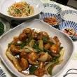 晩ご飯☆酢鶏&プチプチ海草麺の中華サラダ☆