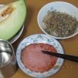晩ご飯 と 大豆