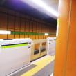 都営新宿線のホームドア、いろいろ