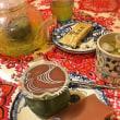 * おうちカフェ★本日は和菓子と濃い緑茶 *