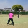 ある日のテニス