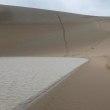 鳥取砂丘・二人だけの足跡